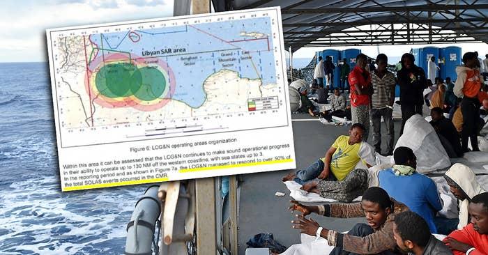 Interner EU-Bericht: 325.000 Migranten könnten Libyen Richtung Europa verlassen