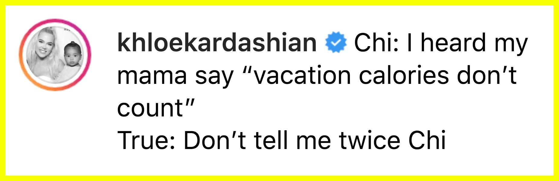 """Khloé Kardashian Is Being Accused Of Teaching Her Child """"Toxic Diet Culture"""" With This Tweet"""