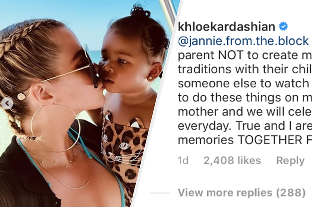 Khloé Kardashian Defended Her Decision To Post ...
