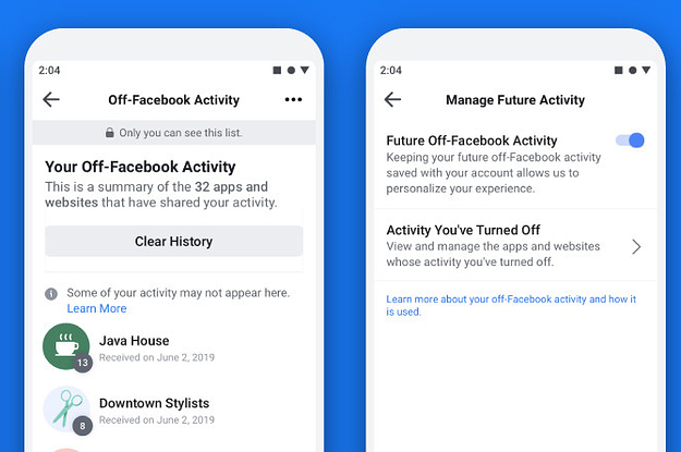 You Can Finally See All Of The Info Facebook Collected About You From Other Websites