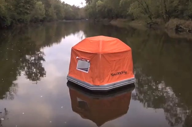 This Floating Tent Is Frickin Scary And Twitter Is Mocking It Pretty Hard