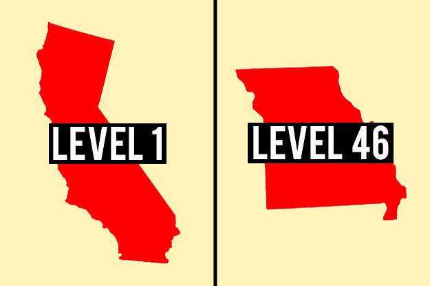 Most People Can't Reach Level 20 In This US Geography Quiz — Can You?