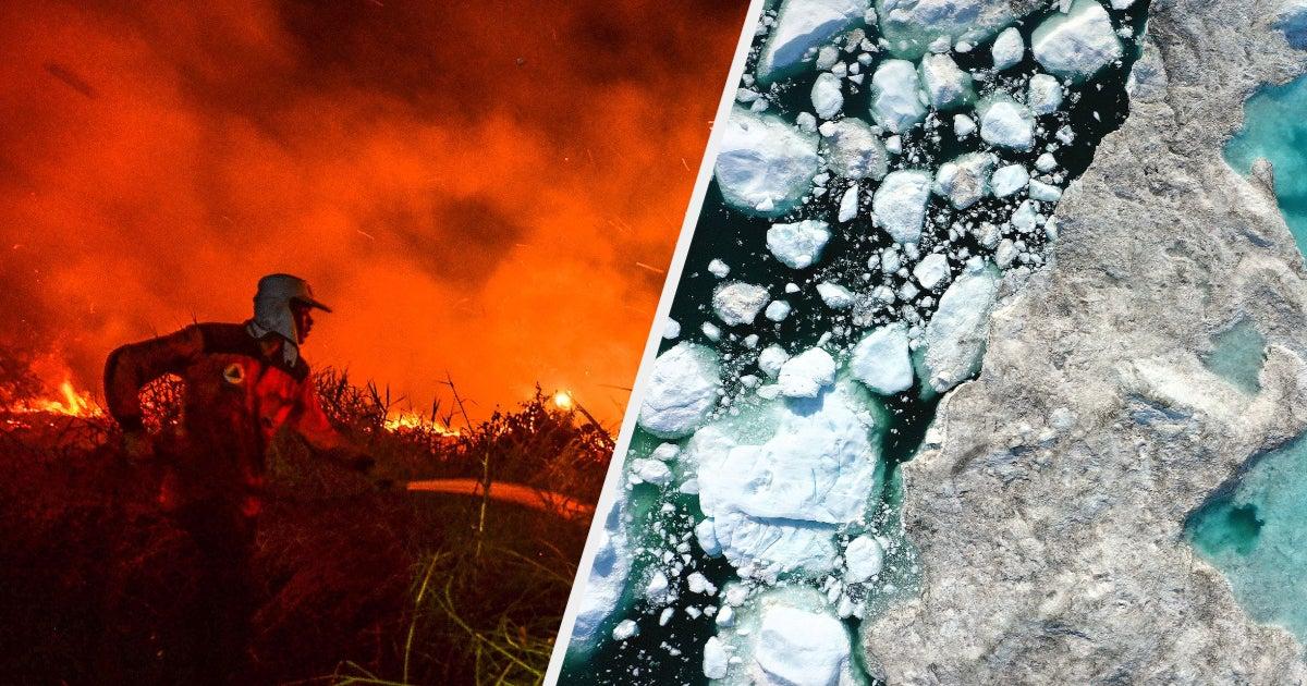 Diese Fotos zeigen, wie der heißeste Monat seit Beginn der Wetteraufzeichnung ausgesehen hat