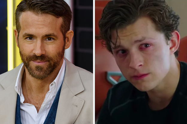 """Ryan Reynolds Responded To """"Spider-Man"""" Leaving The MCU And It's Made Me So Sad"""