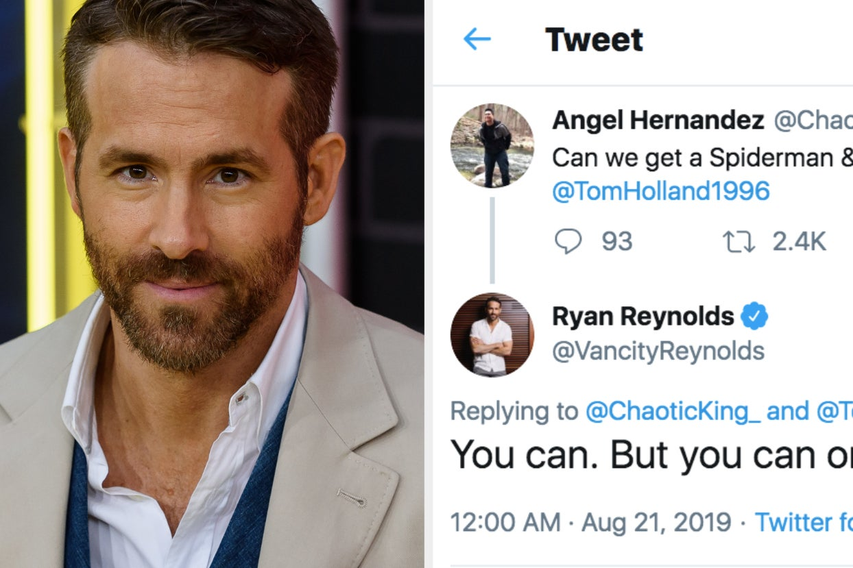 """Spider-Man"" Fans Are Begging Ryan Reynolds For Help After Finding Out It's Leaving The MCU"