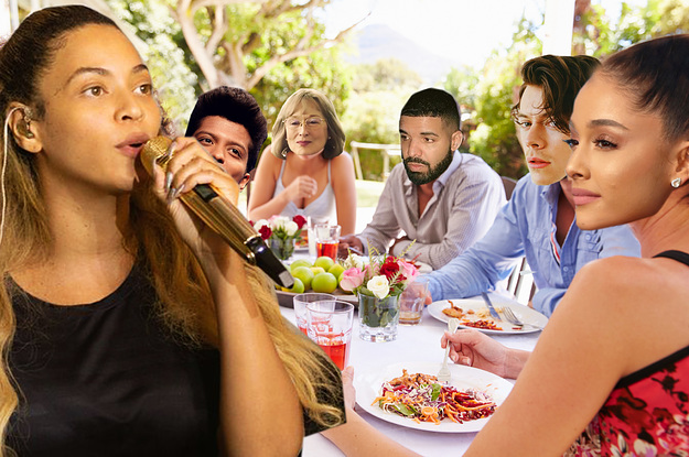 Throw A Celeb Dinner Party To See ...