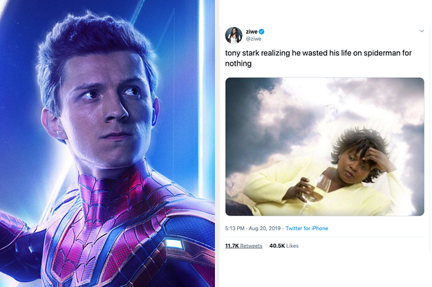 Just A Bunch Of Hilarious Tweets And Memes About Spider-Man Leaving The MCU
