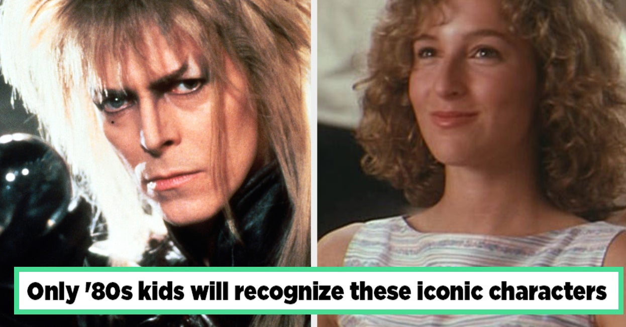 If You Recognize Over 30 Of These Iconic Characters, You're Either An Old Millennial Or Gen-Exer
