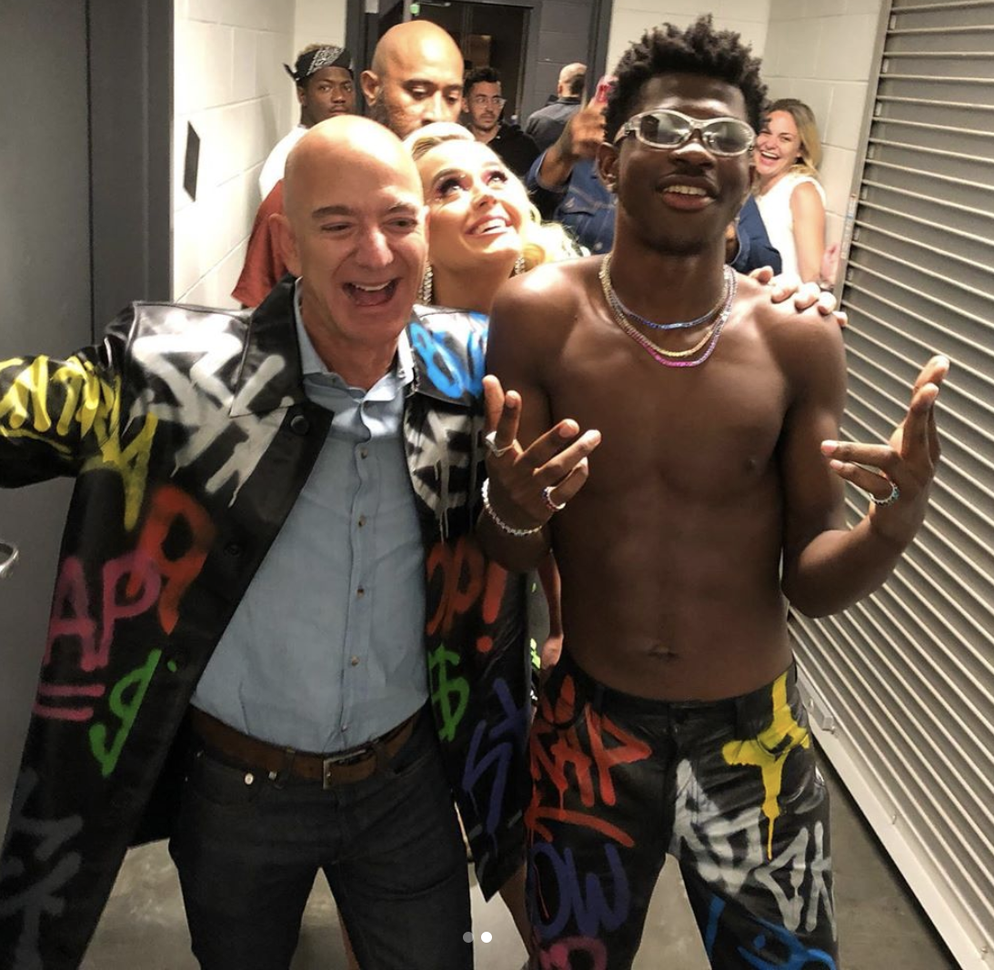 Lil Nas X Gave Jeff Bezos A Makeover And I'm Speechless