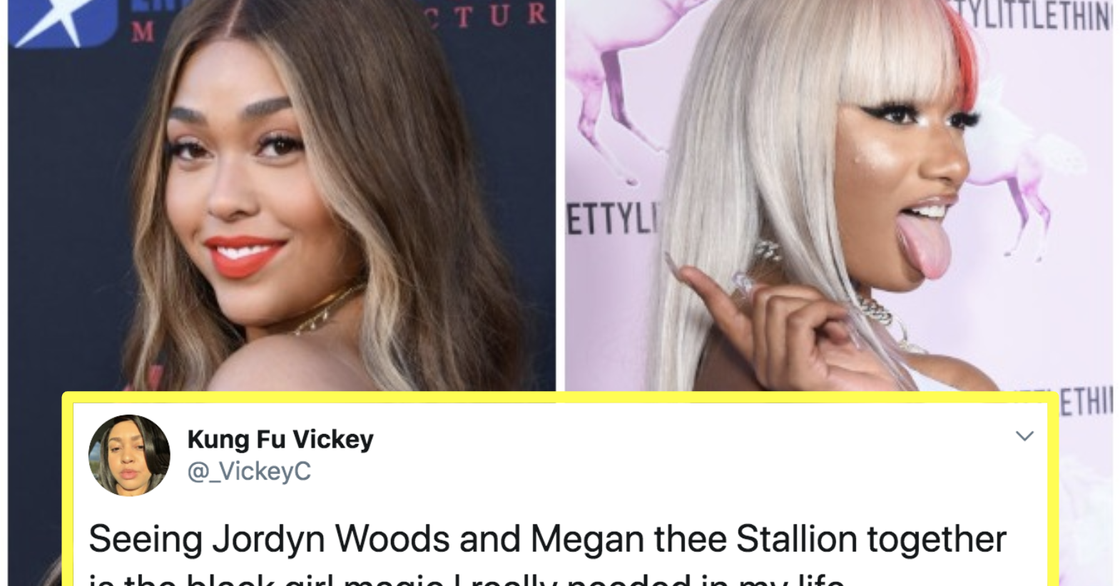 People Are Loving Jordyn Woods And Megan Thee Stallion's New Hot Girl Friendship
