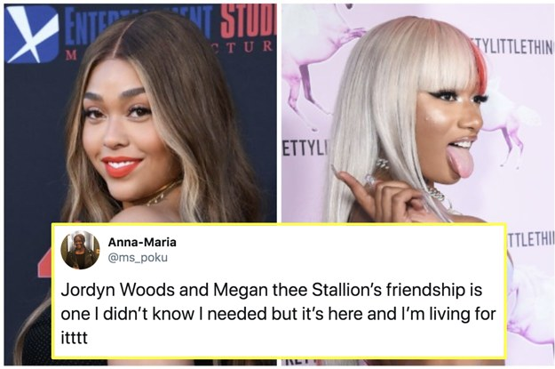 Jordyn Woods And Megan Thee Stallion's Friendship ...