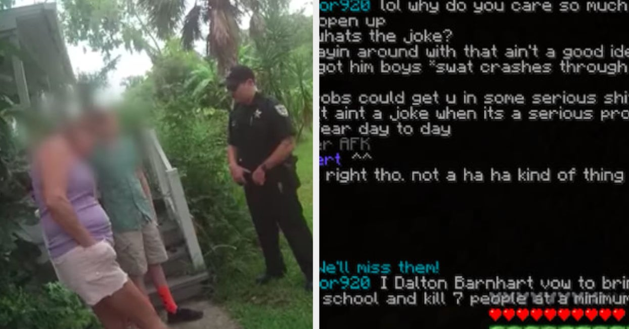 """A Mom Said Her Son Was """"Just A Little Boy."""" Police Said He Could Be The Next """"Kid From Parkland."""""""