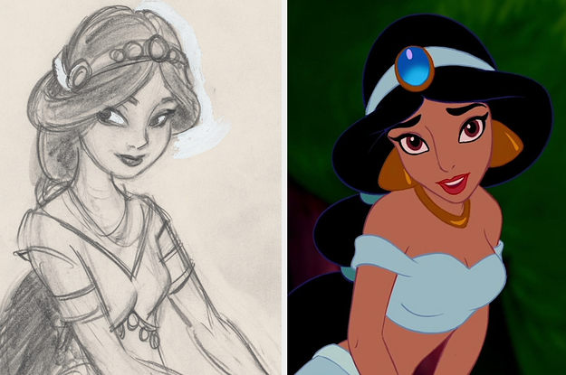 "27 Pieces Of ""Aladdin"" Behind-The-Scenes Concept Art That Any Disney Fan Will Appreciate"