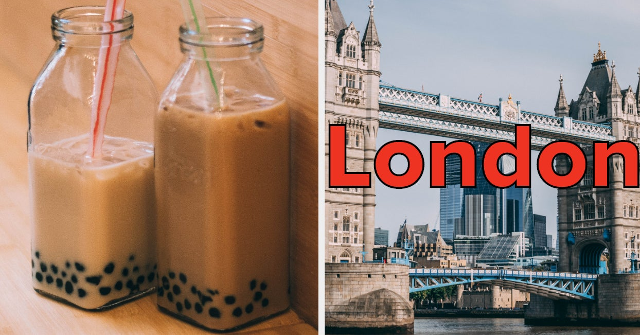 Make Some Boba Tea And We'll Tell You Where In The World You Should Live