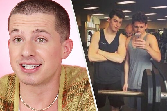 Charlie Puth Debunked Headlines About Himself And No, He Isn't Sending Shawn Mendes Gym Selfies