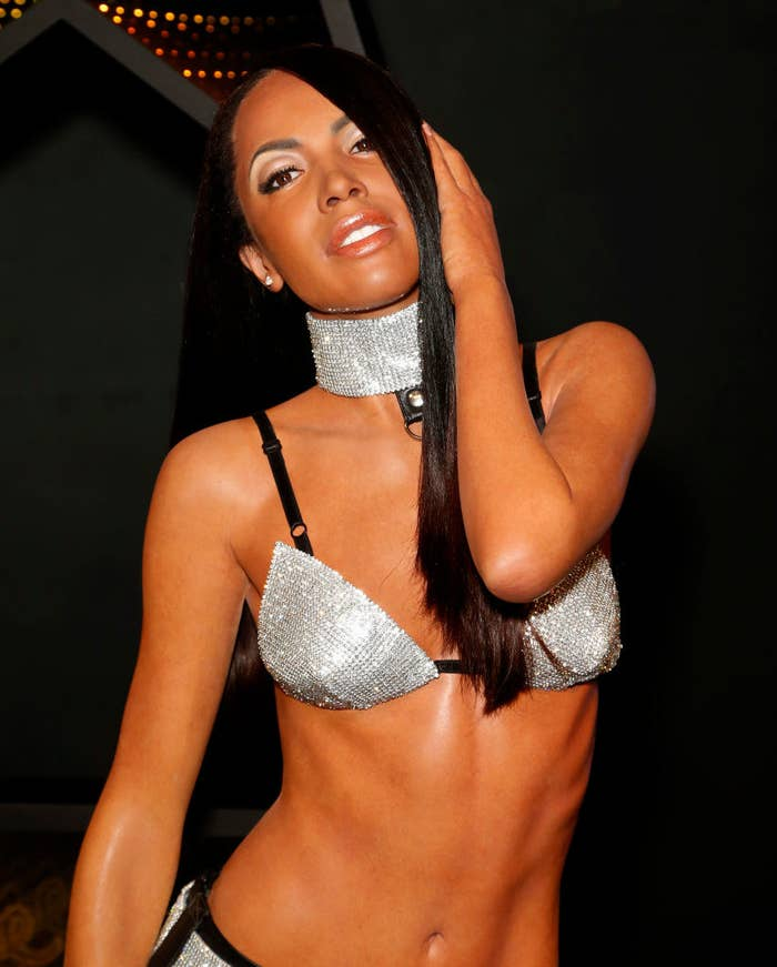 Aaliyah Made Her Madame Tussauds Debut In Las Vegas And Fans Are Loving It