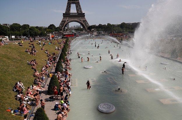 Europes Heat Wave Fried The Global Temperature Record