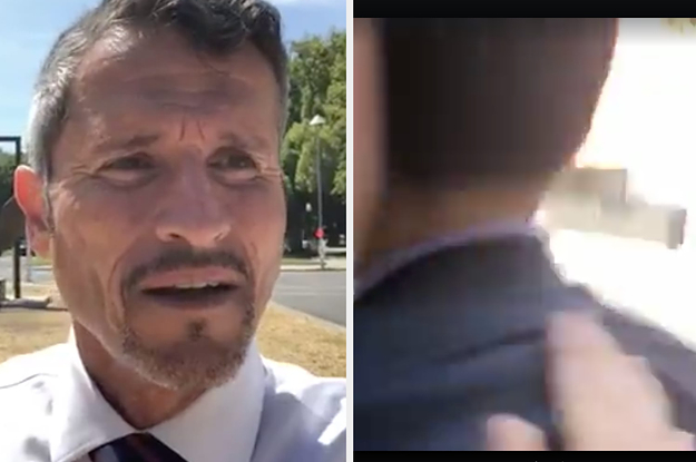 An Anti-Vax Activist Assaulted A California Lawmaker While Streaming Live On Facebook
