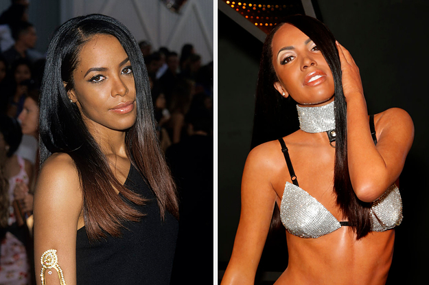 Aaliyah's Brother Debuted Her Madame Tussauds ...