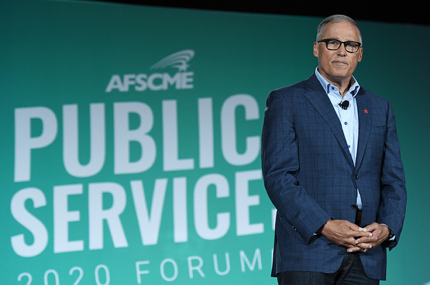 Jay Inslee Is Ending His Climate Change–Driven Campaign For President