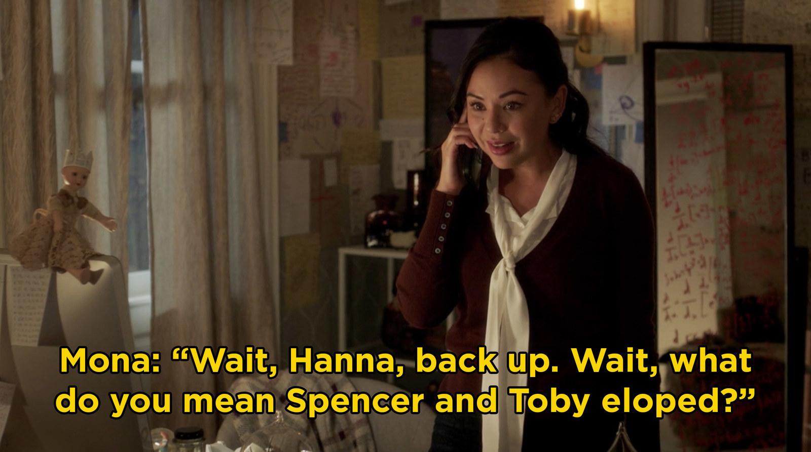 Når gjør Toby og Spencer begynte datingga opp på online dating