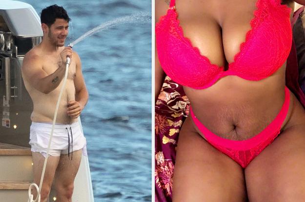 katie price topless beach