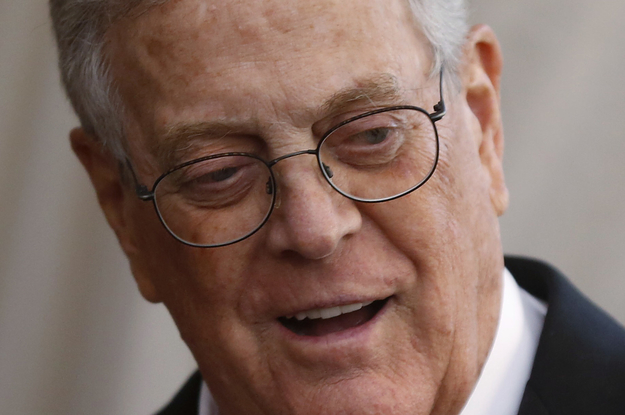 Billionaire David Koch, Who Shaped Modern ...