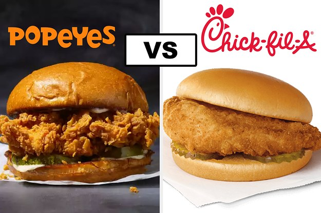 Are You The Popeyes Chicken Sandwich Or The Chick-Fil-A Chicken Sandwich?