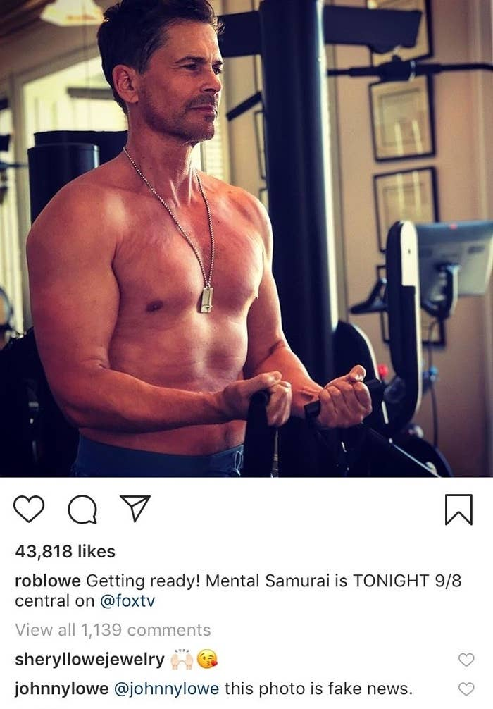 Rob Lowe's Son Keeps On Leaving Slight Drags On His Dad's