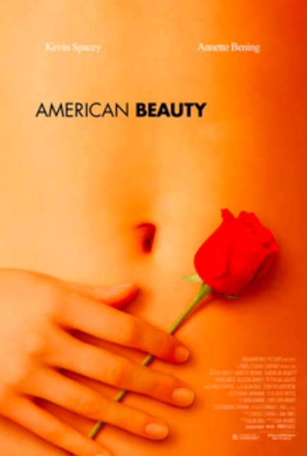 """Christina Hendricks Revealed With A Random Instagram Post That It's Actually Her Hand In The """"American Beauty"""" Poster"""