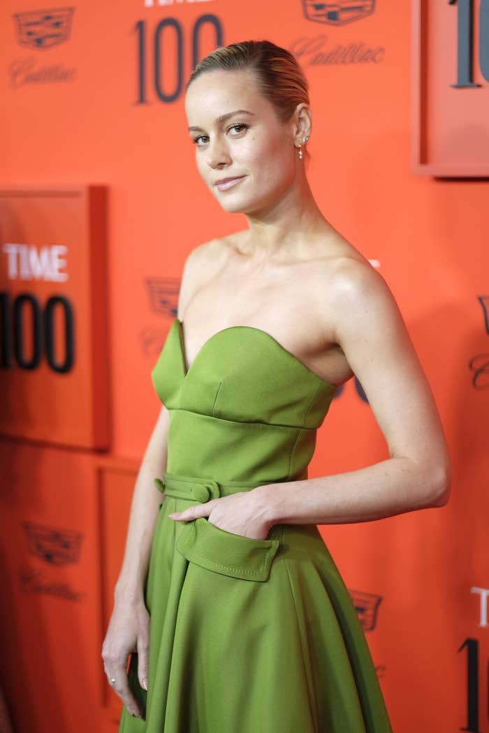 Brie Larson Lifted Thor's Hammer With Ease And Her Humble Brag Is Giving Me Life