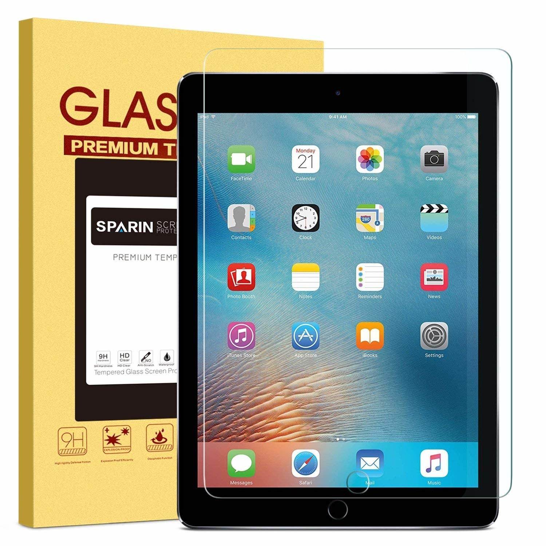 Clear protector over iPad