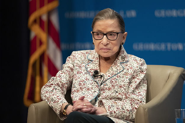 Ruth Bader Ginsburg Was Treated For Pancreatic Cancer This Summer