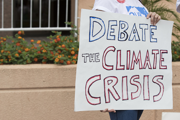 The DNC Voted Against Holding A Climate Debate, Despite Top Candidates Supporting The Idea