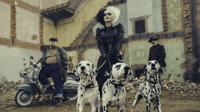 Emma Stone Is Cruella De Vil And Even The Dalmatians Are Exited About It