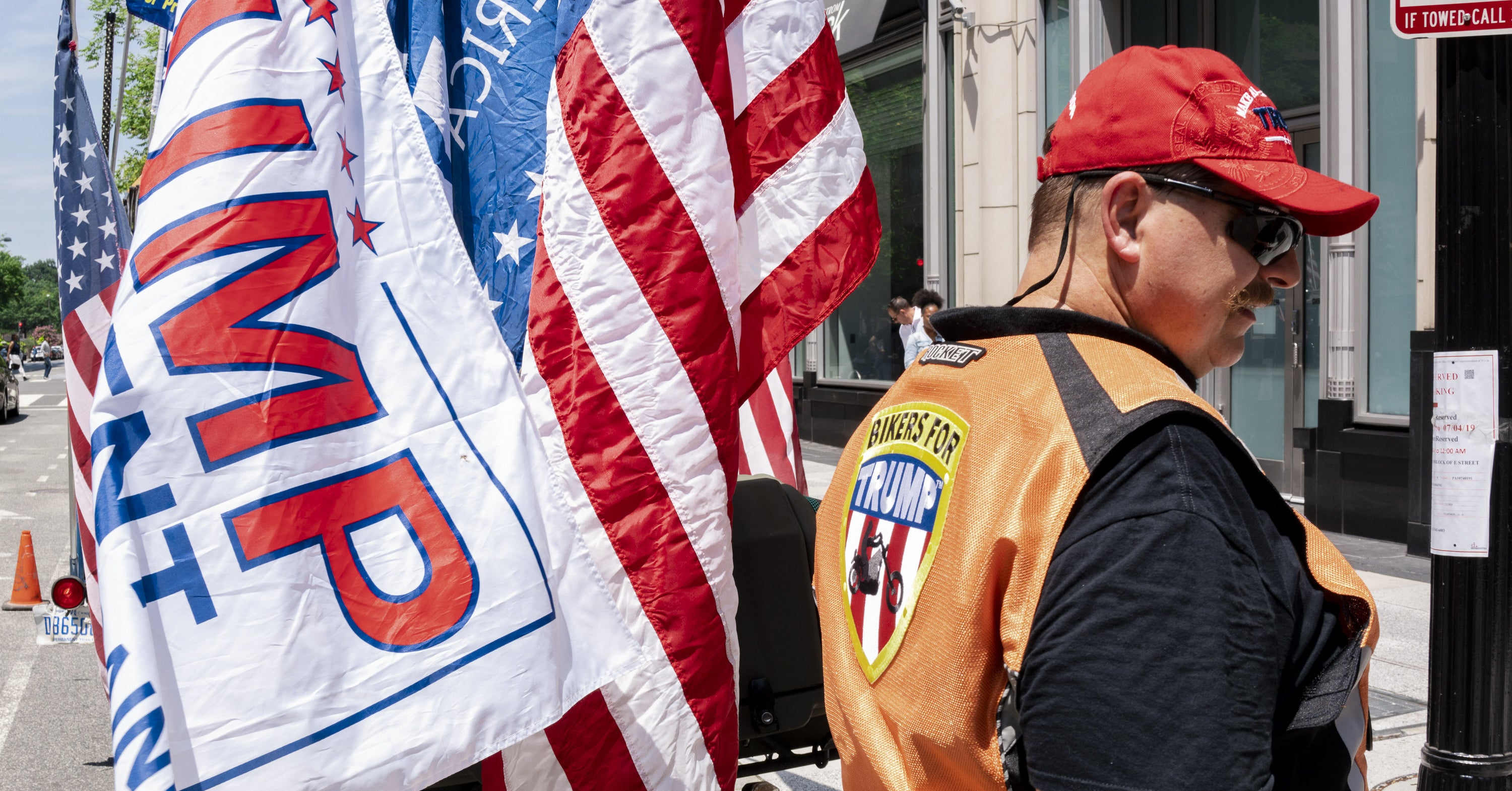 American Rage: A Weekend With Bikers For Trump