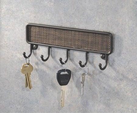 five hook rack
