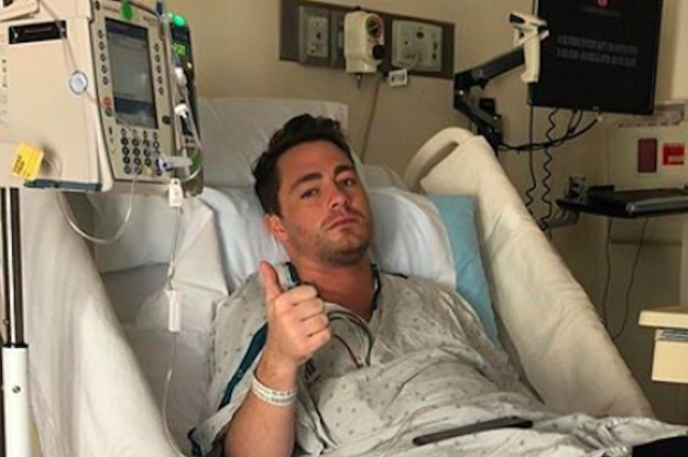 Colton Haynes Shared Hospital Photos On Instagram To Shine Light On Addiction, And Celebs Are Applauding Him For It