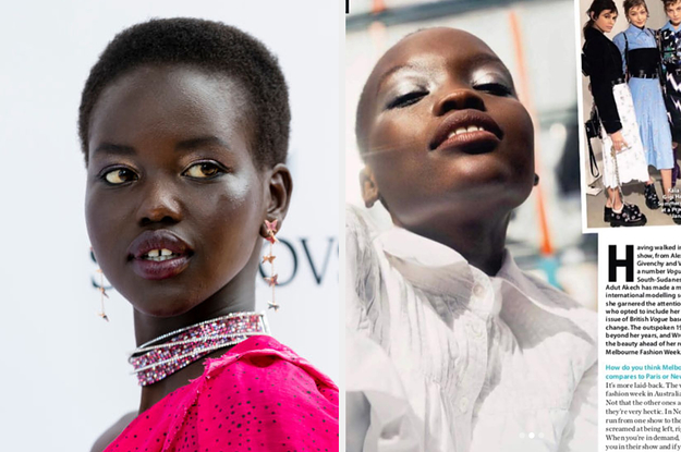 Teen Supermodel Adut Akech Called Out The Fashion Industry For Misidentifying Black Models