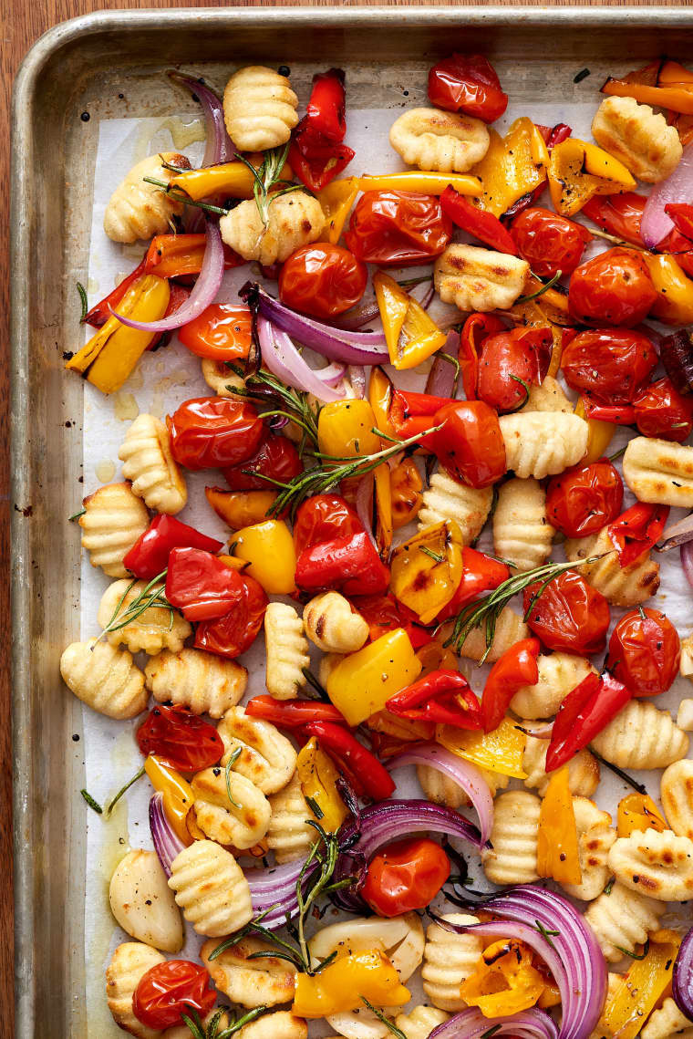 14 Quick Dinner Ideas That Only Require One Sheet Pan To Make