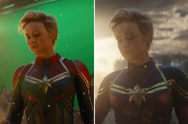 """25 """"Avengers: Endgame"""" Behind-The-Scenes Photos That'll Change The Way You See The Movie"""