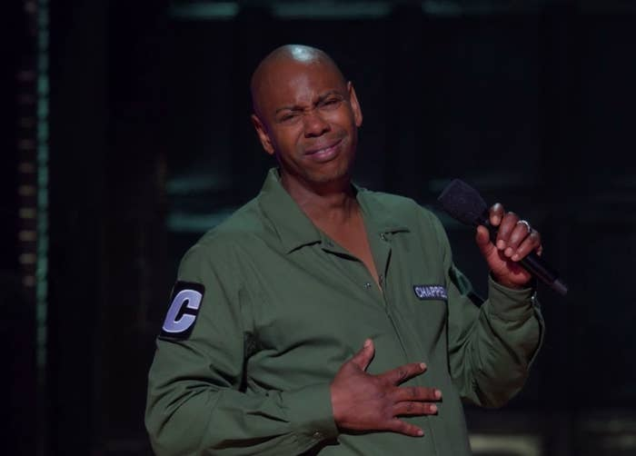 Dave Chappelle's New Netflix Special Is Unnecessarily Offensive