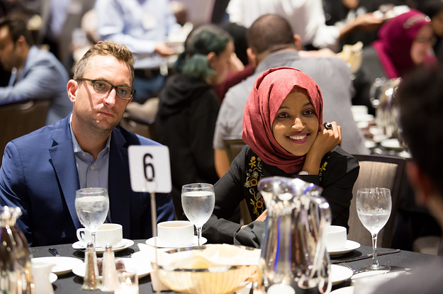 divorce papers  political consultant tim mynett leaves wife beth mynett for rep  ilhan omar