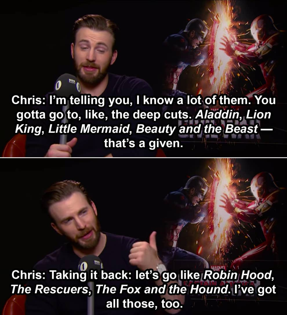 21 Of The Best Chris Evans Moments Of All Time