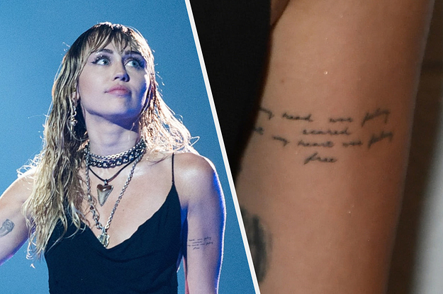 Miley Cyrus S New Tattoos Seem To Hint At Her Breakup From Liam Hemsworth And Relationship With Kaitlynn Carter