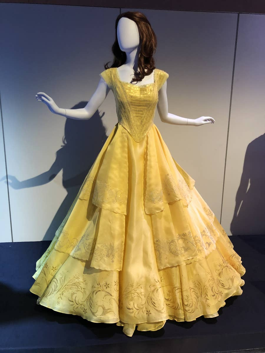 Disney Displayed Iconic Movie Costumes At D23 Expo