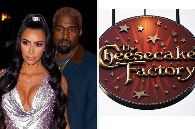 Kim Kardashian And Kanye West Went To The Cheesecake Factory Two Nights In A Row