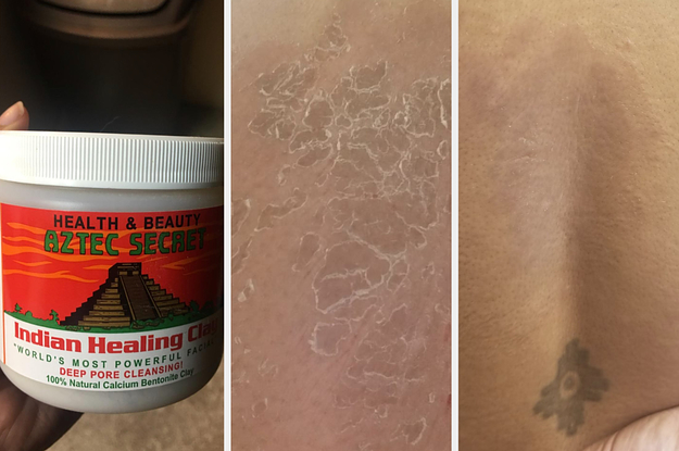 The Aztec Healing Clay Mask Basically Vacuums Out Your Pores