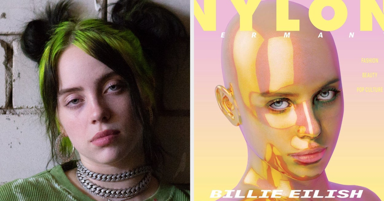 Billie Eilish Called Out A Magazine For Using A Shirtless Illustration Of Her Without Consent