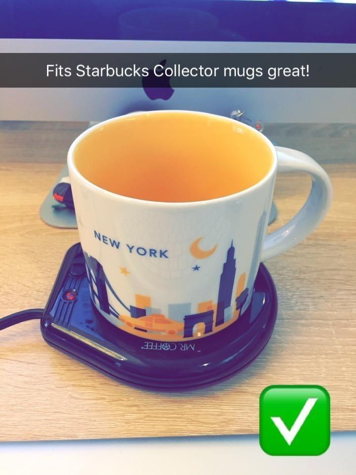 The mug warmer